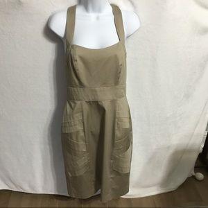 Calvin Klein Khaki Dress NWOT